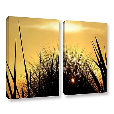 ArtWall 'Deep In July' 2-Piece Gallery-Wrapped Canvas Set 36