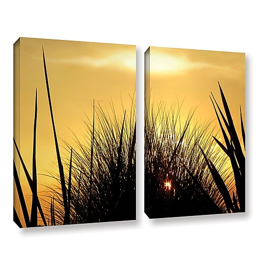 "ArtWall 'Deep In July' 2-Piece Gallery-Wrapped Canvas Set 24"" x 32"" (0uhl156b2432w)"