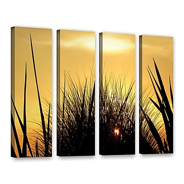 ArtWall 'Deep In July' 4-Piece Gallery-Wrapped Canvas Set 36