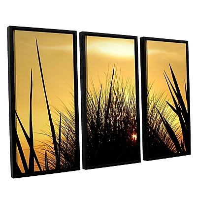 ArtWall 'Deep In July' 3-Piece Canvas Set 36