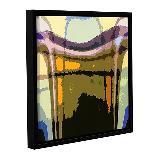 "ArtWall 'Earth To Heaven' Gallery-Wrapped Canvas 24"" x 24"" Floater-Framed (0uhl159a2424f)"