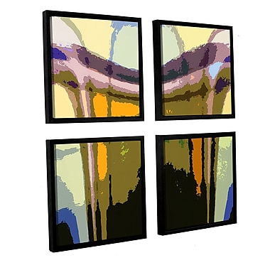 ArtWall 'Earth To Heaven' 4-Piece Canvas Square Set 48