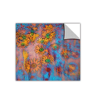 ArtWall 'Floral Thought' Art Appeelz Removable Wall Art Graphic 36