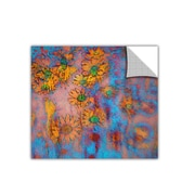 """ArtWall 'Floral Thought' Art Appeelz Removable Wall Art Graphic 14"""" x 14"""" (0uhl160a1414p)"""