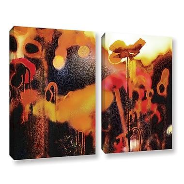 ArtWall 'Garden Enchanted' 2-Piece Gallery-Wrapped Canvas Set 36