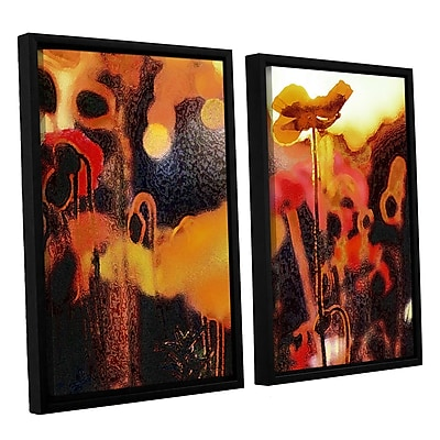 ArtWall 'Garden Enchanted' 2-Piece Canvas Set 24