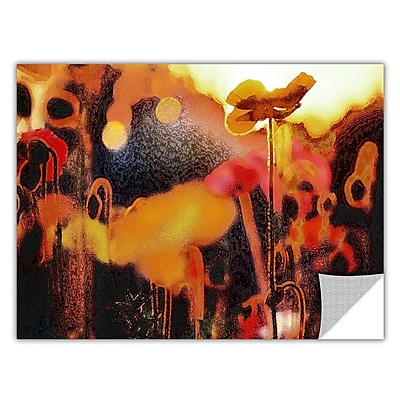 "ArtWall 'Garden Enchanted' Art Appeelz Removable Wall Art Graphic 36"" x 48"" (0uhl161a3648p)"