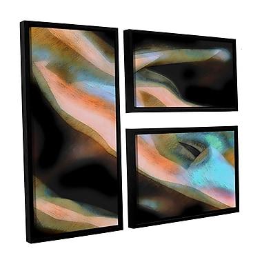 ArtWall 'Jazstract' 3-Piece Canvas Flag Set 36