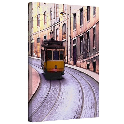 ArtWall 'Lisbon Transit' Gallery-Wrapped Canvas 14