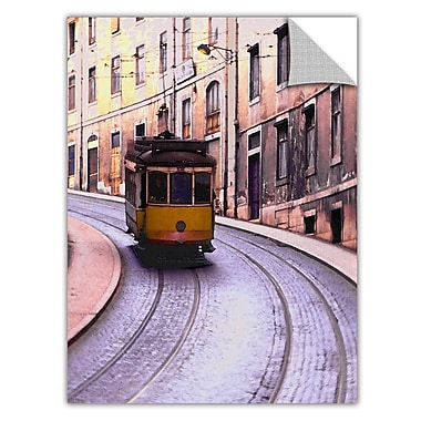 ArtWall 'Lisbon Transit' Art Appeelz Removable Wall Art Graphic 24