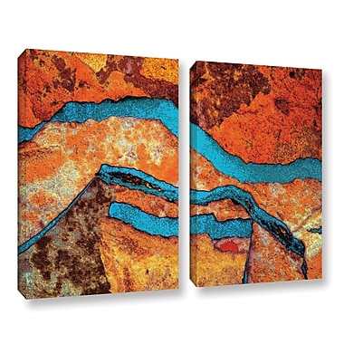 ArtWall 'Niquesa' 2-Piece Gallery-Wrapped Canvas Set 24