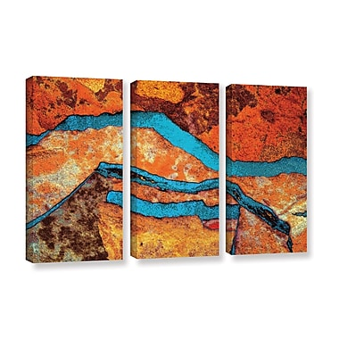ArtWall 'Niquesa' 3-Piece Gallery-Wrapped Canvas Set 36