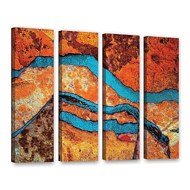 ArtWall 'Niquesa' 4-Piece Gallery-Wrapped Canvas Set 24