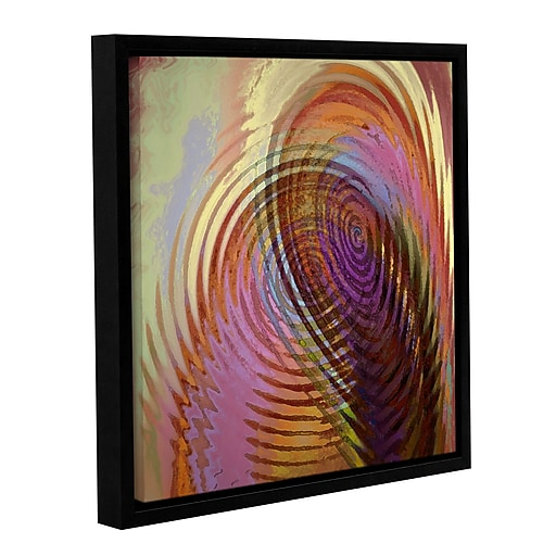"ArtWall 'Palette Vortex' Gallery-Wrapped Canvas 36"" x 36"" Floater-Framed (0uhl166a3636f)"