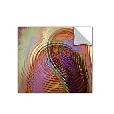 "ArtWall 'Palette Vortex' Art Appeelz Removable Wall Art Graphic 24"" x 24"" (0uhl166a2424p)"