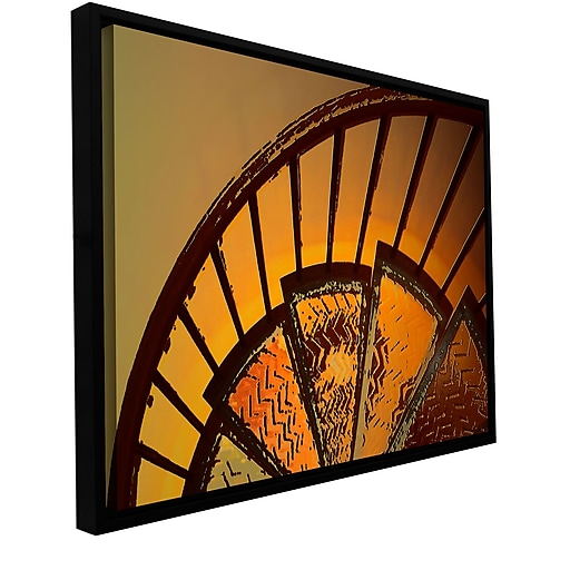 """ArtWall 'Sixth Step' Gallery-Wrapped Canvas 18"""" x 24"""" Floater-Framed (0uhl168a1824f)"""