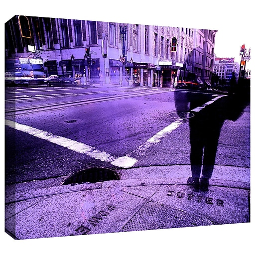 """ArtWall 'Sutter And Powell' Gallery-Wrapped Canvas 36"""" x 48"""" (0uhl170a3648w)"""