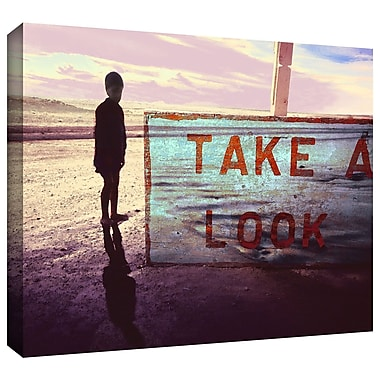 ArtWall 'Take A Look' Gallery-Wrapped Canvas 14