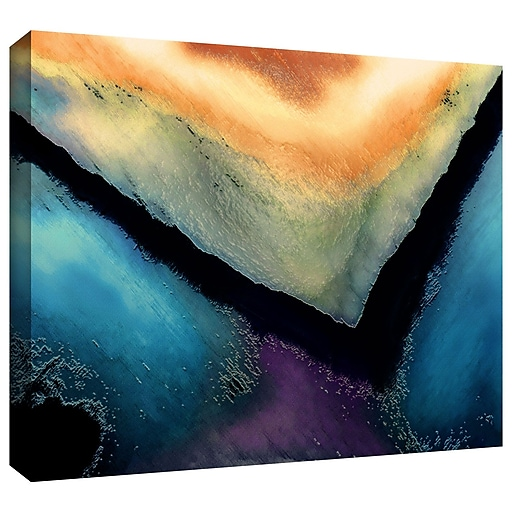 """ArtWall 'The Brink' Gallery-Wrapped Canvas 24"""" x 36"""" (0uhl173a2436w)"""