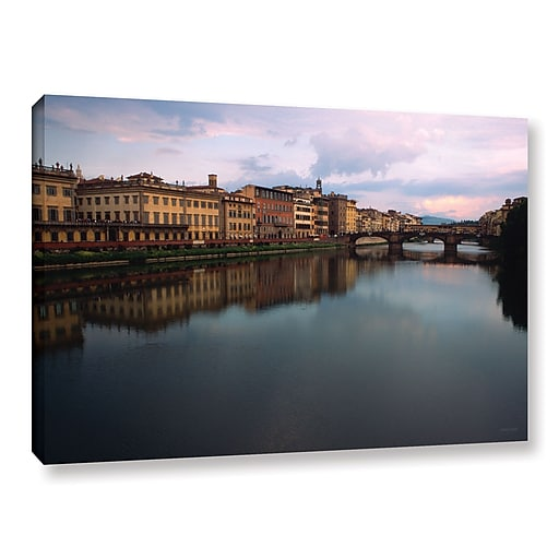 """ArtWall """"Florence Memories"""" Gallery-Wrapped Canvas 32"""" x 48"""" (0yat071a3248w)"""