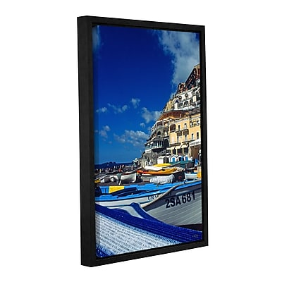 ArtWall 'Positano's Colorful Boats' Gallery-Wrapped Canvas 16