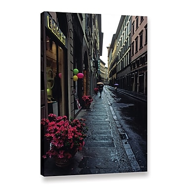 ArtWall 'Rainy Day In Florence' Gallery-Wrapped Canvas 24