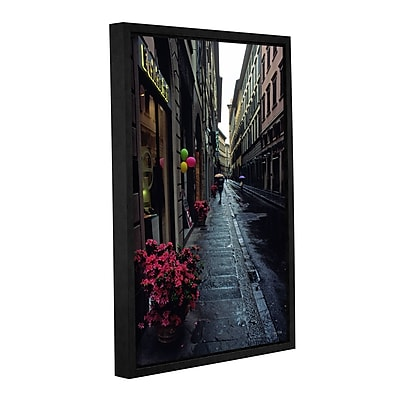 ArtWall 'Rainy Day In Florence' Gallery-Wrapped Canvas 32
