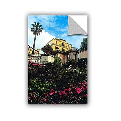 ArtWall 'Spanish Steps In Rome' Art Appeelz Removable Wall Art Graphic 12