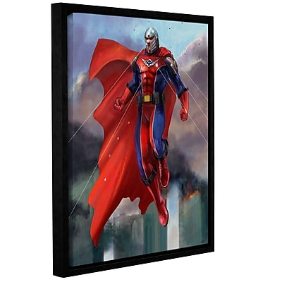 "ArtWall 'Hero' Gallery-Wrapped Canvas 24"" x 32"" Floater-Framed (0goa001a2432f)"
