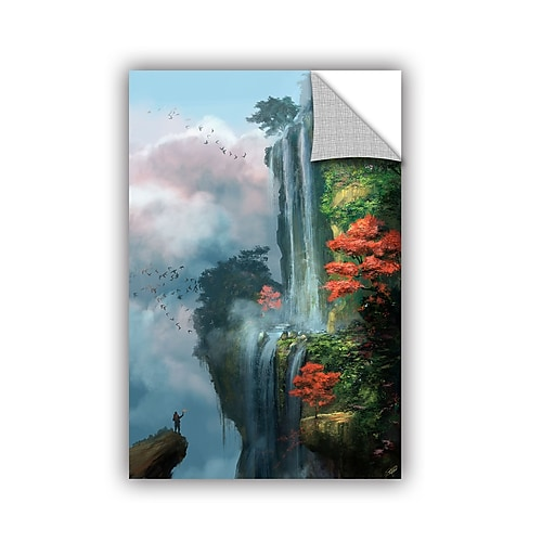 """ArtWall """"In The Clouds"""" Art Appeelz Removable Graphic Wall Art 32"""" x 48"""" (0goa003a3248p)"""