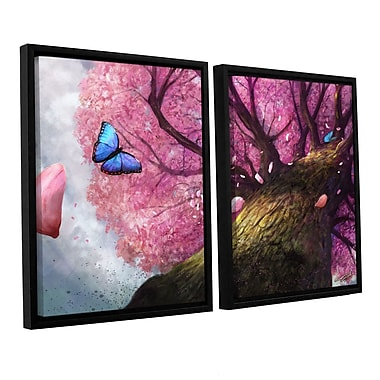 ArtWall 'In The Shadow Of Peace' 2-Piece Canvas Set 32