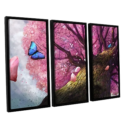 ArtWall 'In The Shadow Of Peace' 3-Piece Canvas Set 36
