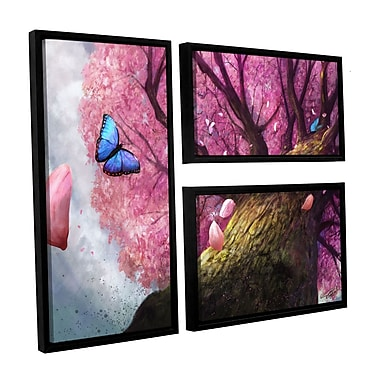 ArtWall 'In The Shadow Of Peace' 3-Piece Canvas Flag Set 24