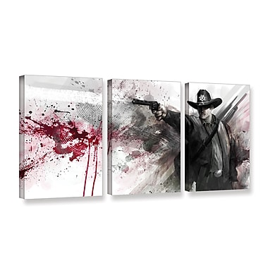 ArtWall 'Justice' 3-Piece Gallery-Wrapped Canvas Set 18