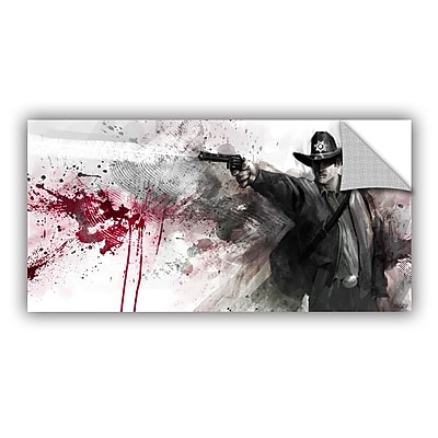 ArtWall 'Justice' Art Appeelz Removable Wall Art Graphic 12