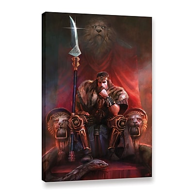 ArtWall 'King By His Own Hand' Gallery-Wrapped Canvas 32