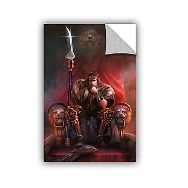 ArtWall 'King By His Own Hand' Art Appeelz Removable Wall Art Graphic 32