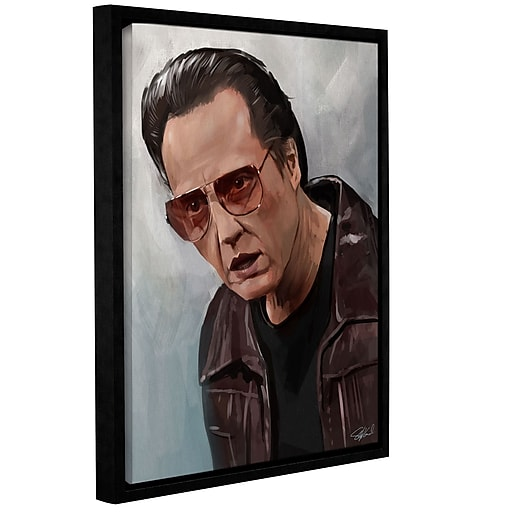"""ArtWall 'More Cowbell' Gallery-Wrapped Canvas 18"""" x 24"""" Floater-Framed (0goa010a1824f)"""