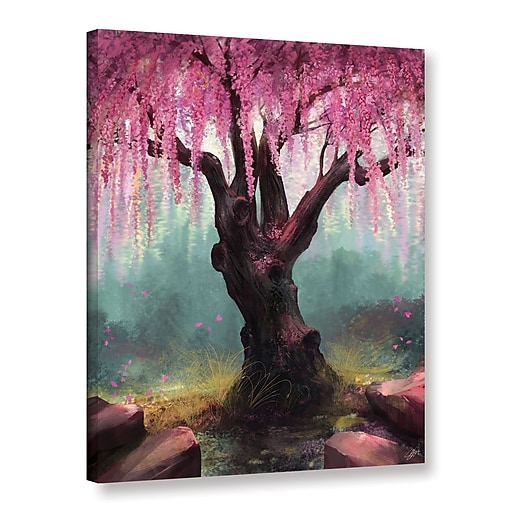 """ArtWall 'Ode To Spring' Gallery-Wrapped Canvas 24"""" x 32"""" (0goa011a2432w)"""