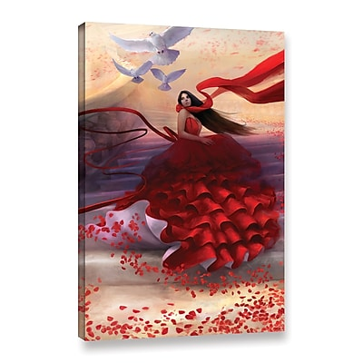 ArtWall 'Reflecting Back' Gallery-Wrapped Canvas 16