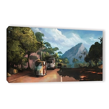 ArtWall 'Rush Hour' Gallery-Wrapped Canvas 24