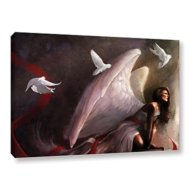 ArtWall 'Sometimes They Weep' Gallery-Wrapped Canvas 24