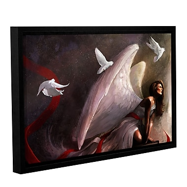 ArtWall 'Sometimes They Weep' Gallery-Wrapped Floater-Framed Canvas 32