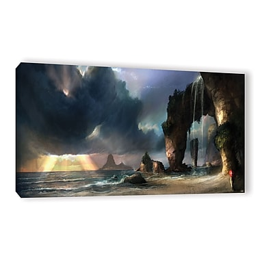 ArtWall 'The Beach' Gallery-Wrapped Canvas 24