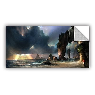ArtWall 'The Beach' Art Appeelz Removable Wall Art Graphic 18