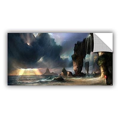ArtWall 'The Beach' Art Appeelz Removable Wall Art Graphic 24