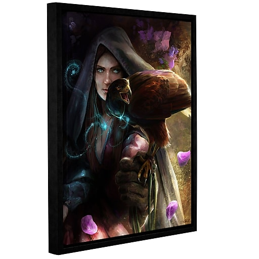 """ArtWall 'The Bond' Gallery-Wrapped Canvas 24"""" x 32"""" Floater-Framed (0goa022a2432f)"""
