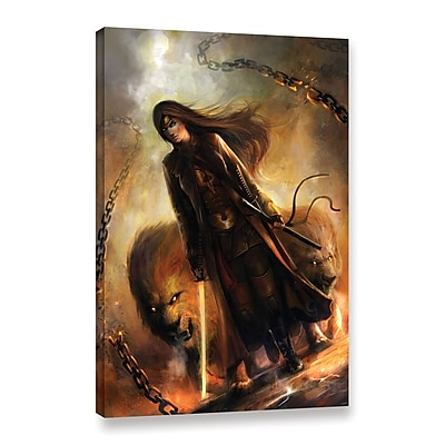 ArtWall 'The Good Path' Gallery-Wrapped Canvas 32