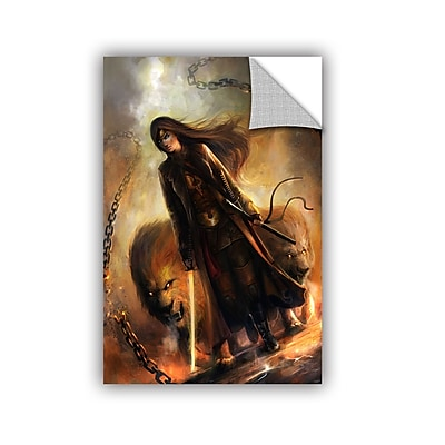 ArtWall 'The Good Path' Art Appeelz Removable Wall Art Graphic 16