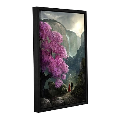 ArtWall 'The Path' Gallery-Wrapped Canvas 32